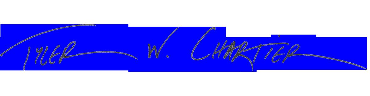 tyler chartier photography logo