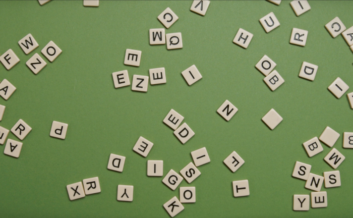Scattered letter tiles.  The Key to Great Alt Text for Images? Think Accessibility First.